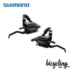 시마노 ALTUS,ACERA ST-EF500 (3단,왼쪽,8단,오른쪽,블랙)
