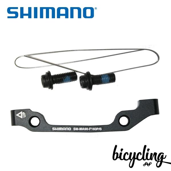 시마노 디스크브레이크 어댑터 SM-MA90-F (160P/S)(160mm)
