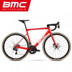 BMC 19년식 팀머신 SLR01 DISC THREE 완성차 Di2 팀레드
